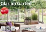 Glas im Garten